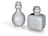 Bottles (2x) 3d printed
