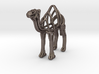 Camel Wireframe Keychain  3d printed