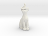 Cat In Witches Hat 3d printed