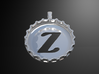 Bottle Cap Pendant (Z) 3d printed