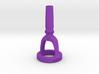 Contrabass Tuba Cut-Away Mouthpiece  3d printed