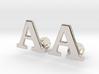Initial Cufflinks  (A) 3d printed