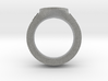 J&C fleur de lis Ring 2 3d printed