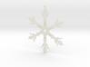 Snowflake Scrat Ornament 3d printed