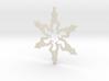 Snowflake Gangnam Style Ornament 3d printed