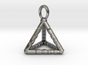 TETRAHEDRON (stage one) pendant 3d printed