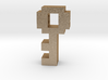 8 Bit Key 3d printed 8 Bit Key