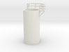 'N Scale' - 10' Distillation Tower - Middle - Righ 3d printed