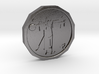 Dudeist Coin 3d printed