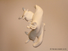 Yana the Nudibranch 3d printed White Strong & Flexible Polished