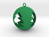Tree Bauble Christmas Tree Ornament 3d printed