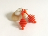 Colorful Honey Dripper Earrings 3d printed