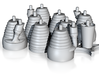 H-1 Engines (1:70 Saturn I & IB) SA-1 thru SA-202 3d printed