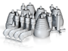 H-1 Engines (1:70 Saturn IB) SA-203 thru SA-210 3d printed
