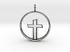 Cross Pendant 3 (Medium) 3d printed