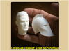 1:6 Scale Dr. Fate Head 3d printed