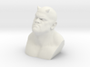 Demon Bust character 3d printed