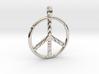 PEACE SYMBOL 2015 3d printed