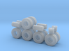 """1/50th Heavy 52"""" Oilfield or Off Road tires, set 2 3d printed"""