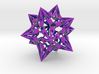 "complex stellate icosahedron ""Eladrin Form"" 3d printed"