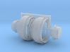 1/64 34in FWA Big Hub Rims 3d printed