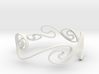 Kelvin-Helmholtz Bracelet #1 - 6'' Wrist 3d printed