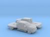 1/160 2X 2015 Chevrolet Silverado Flatbed Dually 3d printed