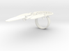Feather Dream Catcher Ring 3d printed