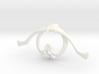 Bone House: Collar O - Large 3d printed