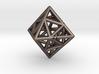Octahedon with Icosahedron inside 3d printed