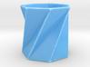 Twisting Futaoki (heptagon)  3d printed