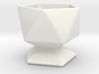 Icosahedral Cup 3d printed