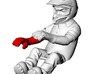 WW10008 Wild Willy Glamis driver arm - RIGHT 3d printed Purchase only includes red part. See link below to purchase the complete figure