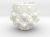 Mandelbulb Espresso Cup - Hardcore version 3d printed