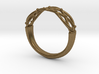 Celtic Weave Ring 3d printed