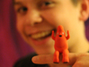 JazzHands 3d printed he can fit on MY finger, he could fit on yours!