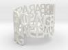 ring poem GBARBARASTEVEYOUNG 3d printed