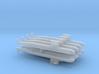 PLA[N] 093 Submarine x 8, 1/6000 3d printed