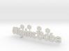 """Logo """"Alpine Bobs"""" für 1:87 (H0 scale) 3d printed"""