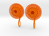 Plugs / gauges/ The Sunflowers 4 g (5 mm) 3d printed