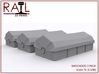 N Gauge - SHOCHOODS - 3 Pack 3d printed