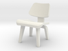 1:48 Eames Molded Plywood Chair 3d printed