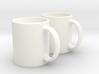 Mug Earrings 3d printed