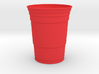 Giant Red Solo Cup 3d printed