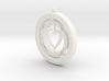 Pendant rotation HEART  3d printed