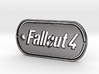 Fallout 4 Dog Tag 3d printed