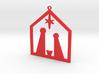 Christmas Crib for tree 3d printed
