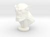 Demon Head 3d printed
