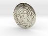 United Nations Logo Precious Metal Coin 3d printed