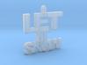 Let It Snow 3d printed